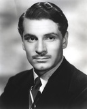Laurence Olivier in Formal Suit with Tie Close Up Portrait Photo by  Movie Star News