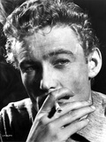Peter O'Toole Posed in Black and White With Cigarette Photo by  Movie Star News