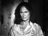 Colleen Dewhurst Looking Serious in Floral Dress Portrait Photo by  Movie Star News
