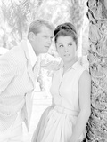 Palm Springs Weekend Couple Portrait in Formal Attire Photo by  Movie Star News