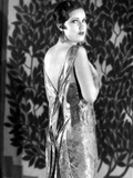 Fay Wray Posed in Dress with Plants as Background Photo by  Movie Star News