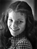 Amy Irving smiling and Facing Right in Classic Portrait Photo by  Movie Star News