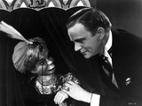 Edgar Bergen Staring Doll's Face With Black Suit Photo by  Movie Star News