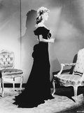 Greta Garbo in a Gown and Facing to the side Portrait Photo by  Movie Star News