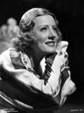 Irene Dunne on a Long Sleeve Top sitting Portrait Photo by  Movie Star News