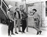 Bonanza Posed in Cowboy Outfit Gray scale Group Portrait Photo by  Movie Star News