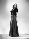 Rita Hayworth wearing a Black Gown Beautiful Pose Photo by Robert Coburn