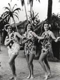 Dorothy Lamour Dancing in Classic with Hawaiian Lei Photo by  Movie Star News