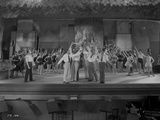 Al Jolson Rehearsing on the Stage with the Whole Group Photo by  Movie Star News