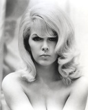 Stella Stevens Nude in Black and White Close Up Portrait Photo by  Movie Star News