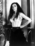 Classic Portrait of Barbara Steele posed in Lingerie Photo by  Movie Star News