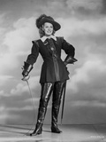 Maureen O'Hara in Black Fencing Outfit Portrait Photo by E Bachrach