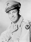 Alan Ladd smiling and wearing a Militray Uniform Photo by  Movie Star News