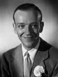 Fred Astaire smiling in Suit with Gray Background Photo by E Bachrach