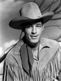 Guy Madison in Cowboy Outfit Classic Portrait Photo by  Movie Star News