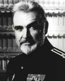 Sean Connery in General Uniform Black and White Photo by  Movie Star News