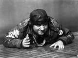 John Belushi Crawling in Army Outfit With Helmet Photo by  Movie Star News