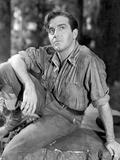 John Payne wearing a Long Sleeves and a Denim Pants Foto af  Movie Star News