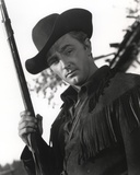 Robert Mitchum Holding a Rifle in a Western Outfit Photo by  Movie Star News