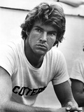 Dennis Quaid in White Shirt Close Up Portrait Photo by  Movie Star News