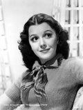Ann Rutherford wearing a Sweat Shirt with a Scarf Photo by  Movie Star News
