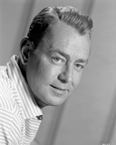 Alan Ladd Looking at the Camera with a Little Smile Photo by  Movie Star News