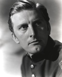 Kirk Douglas as Police Officer Close Up Portrait Photo by  Movie Star News
