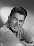 Ronald Reagan Classic Picture Close Up Portrait Photo by Bud Fraker