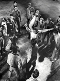 West Side Story Fighting Scene in Black and White Photo by  Movie Star News