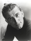 Kirk Douglas in Black Sweater Close Up Portrait Photo by  Movie Star News