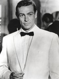 Sean Connery Posed in Tuxedo with Black Bow Tie Photo by  Movie Star News