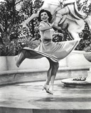 Ann Miller Turning Around in a Classic Portrait Photo by  Movie Star News