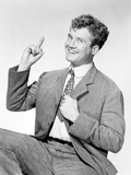 George Reeves posed in Black and White Portrait Photo by  Movie Star News