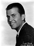 Dick Clark Posed in Black Suit With White Background Photo by  Movie Star News