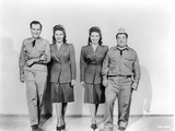 Abbott & Costello Posed and Partnered with Women Photographie par  Movie Star News