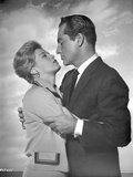 Rome Adventure Man in Suit Holding Woman's Arms Photo by  Movie Star News