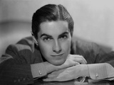 Tyrone Power 38 - Photograph Hollywood Print Foto af  Movie Star News