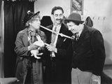 Marx Brothers Scene with a Man Holding a Rabbit Photo by  Movie Star News