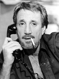 Roy Scheider Posed in Black Suit With Cigarette Photo by  Movie Star News
