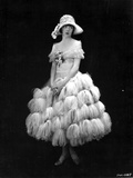Colleen Moore on a Thick Furry Skirt Portrait Photo by  Movie Star News