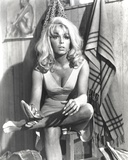 Stella Stevens sitting Pose Classic Portrait Photo by  Movie Star News