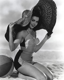 Ann Miller Posed in :lingerie Classic Portrait Photo by  Movie Star News