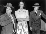 Abbott & Costello Posed with a Woman in Dress Photographie par  Movie Star News