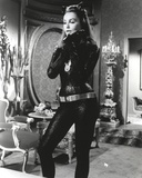 Julie Newmar in Cat Woman Costume Black and White Photo by  Movie Star News
