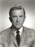 Kirk Douglas in Formal Outfit with Black Necktie Photo by  Movie Star News