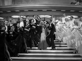 Fred Astaire and Ginger Rogers Dancing on Stairs Photo by  Movie Star News