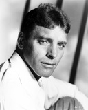 Burt Lancaster Posed in White Long Sleeve Polo Photo by  Movie Star News