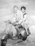 Rome Adventure Man and Woman Riding on a Scooter Photo by  Movie Star News