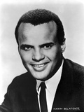 Harry Belafonte in Black With White Background Photo by  Movie Star News