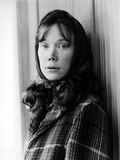 Sissy Spacek wearing a Coat in a Classic Portrait Photo af Movie Star News